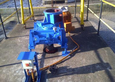 Hansen Aerator Gearbox Overhaul